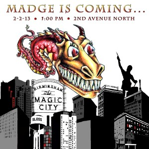 Madge is Coming Color REVISED