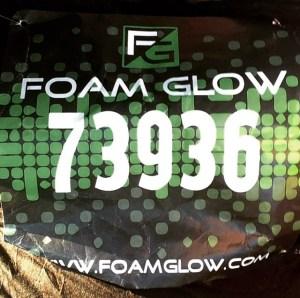 Foam Glow bib