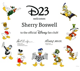 D23 Welcomes Sherry Boswell
