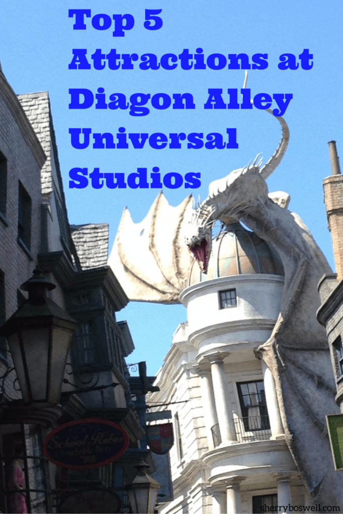 Fab 5 Attractions at Diagon Alley