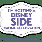 Frozen themed Disney Side @Home Celebration