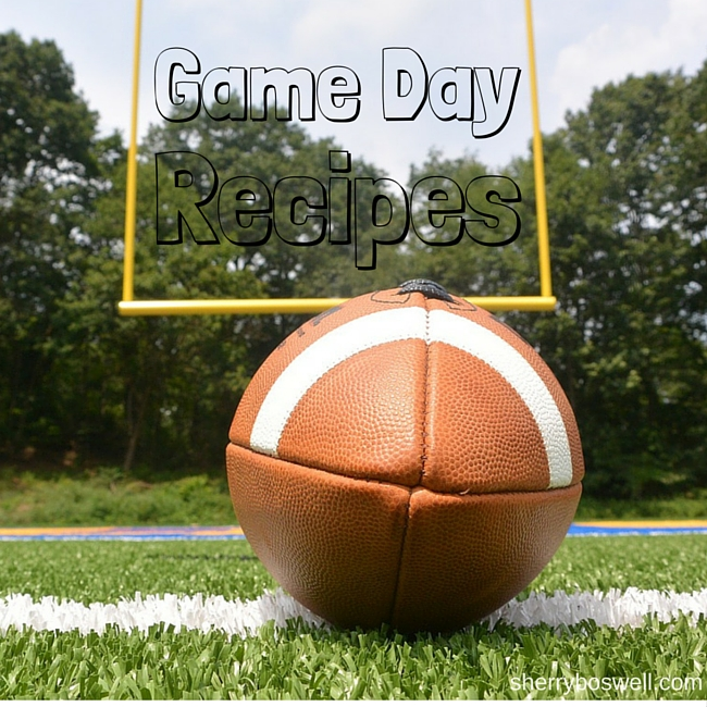 game day recipes cover photo