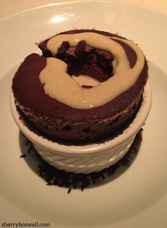 kai chocolate souffle
