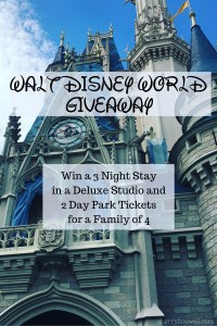 Win a Walt Disney World Resort Vacation for a Family of 4!