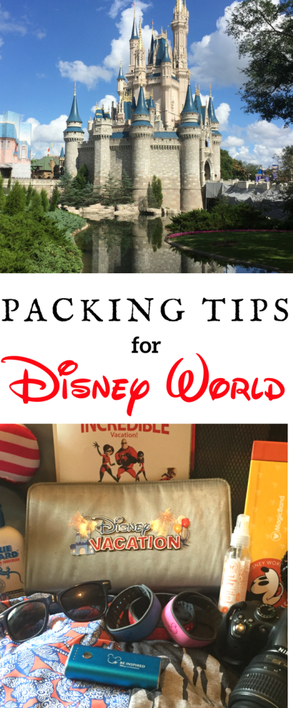 To Disney World...and beyond! Get your bags packed properly with these packing tips for Disney World. From can't forget items to no-no's, we'll get you rolling with these tried and true tips for packing perfection!