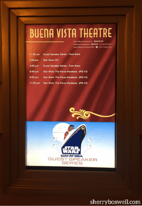 Disney Cruise Line Star Wars Day at Sea 2018