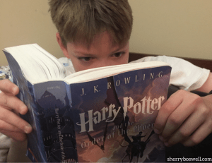My Kid Will Only Read Harry Potter Books