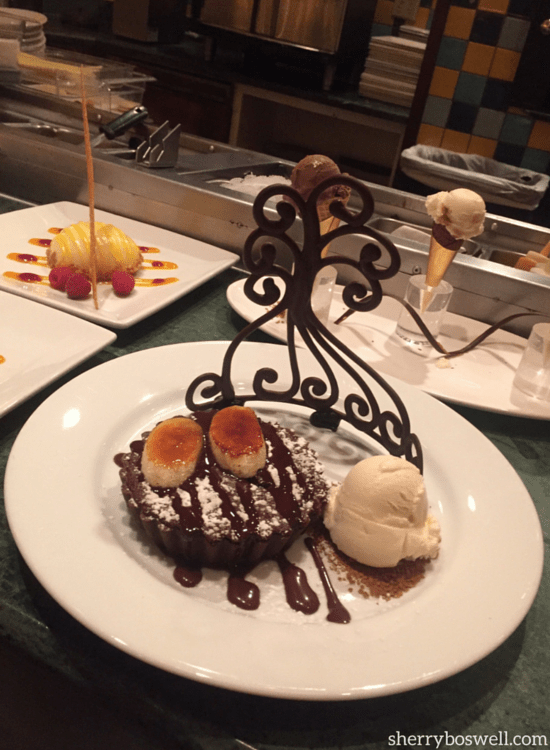 Easy to see how FOOD is one of the 7 Reasons to Love Disney's Grand Floridian Resort and Spa, especially with these Citricos desserts