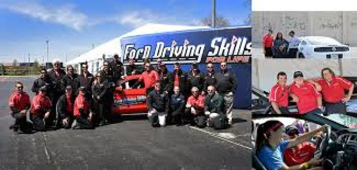 ford driving skills for life first hand photos