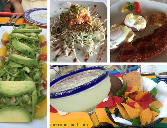 Puerto Vallarta Resort | Food collage of the offerings at Grand Palladium Vallarta.