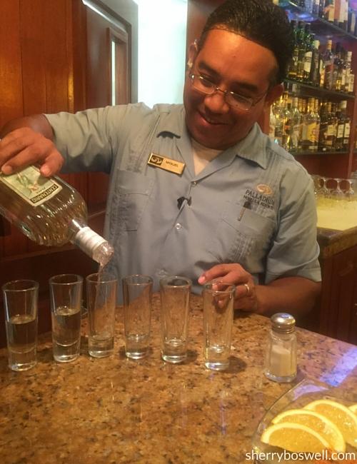 Puerto Vallarta Resort   Tequila and Mezcal are what's for tasting at the Grand Palladium Vallarta