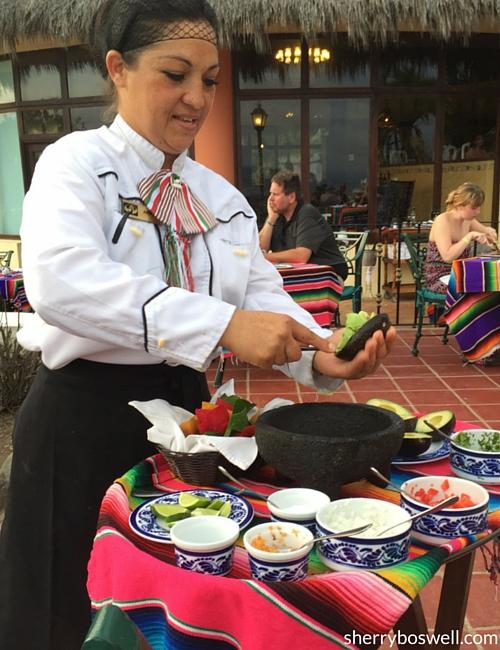 Puerto Vallarta Resort   Viva Mexico at Grand Palladium Vallarta has a killer tableside guacamole!