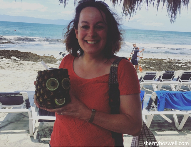 Puerto Vallarta Resort   Named my Grand Palladium Vallarta pineapple drink Wilson after the movie Castaway.