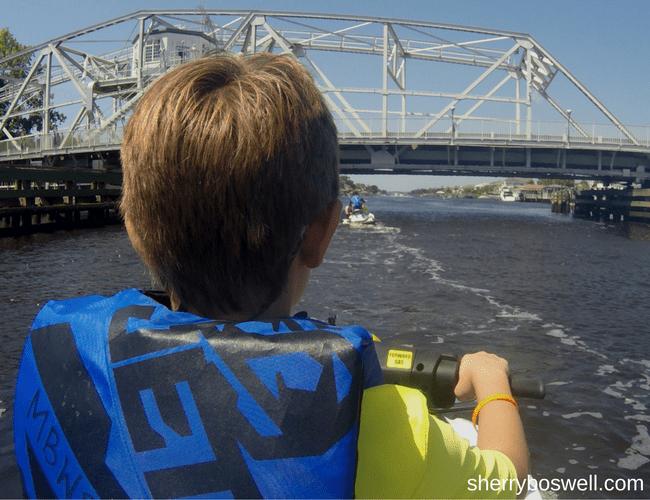 Myrtle Beach Watersports: jet ski dolphin tour