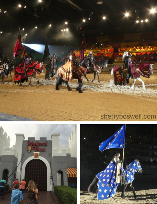 Myrtle Beach Family Fun | Fun in and out of the waves included horses and knights at Medieval Times Myrtle Beach