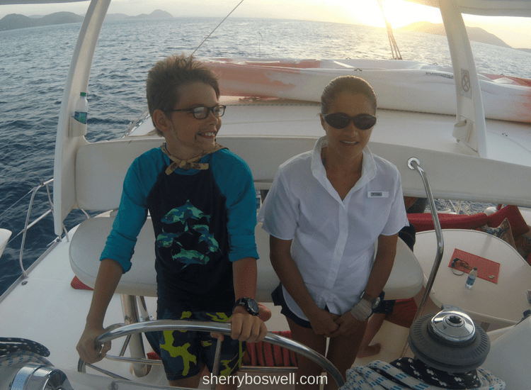 Caribbean Sailing| One of the best discoveries was seeing my son's love of sailing be born and his fascination with learning how to sail