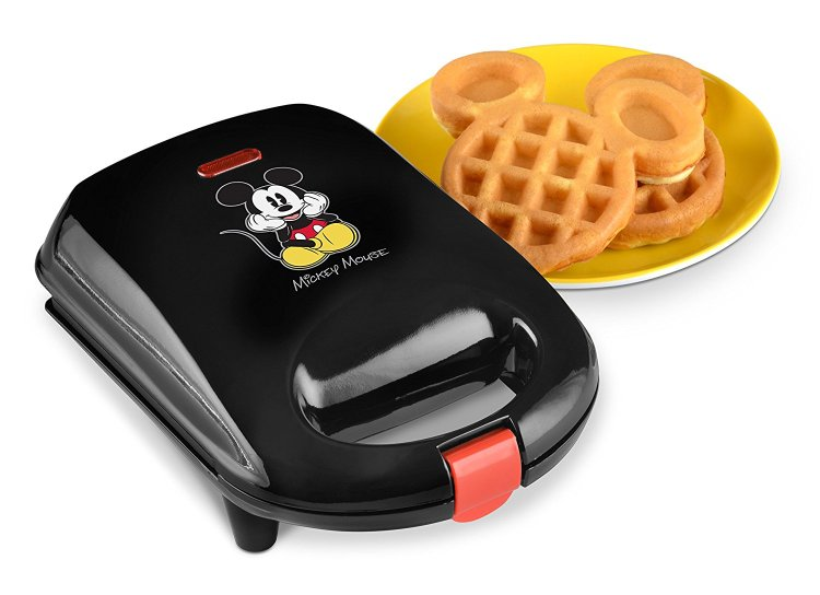 Mickey waffles can be a daily experience with a Mickey waffle maker, just one of the gift ideas from the holiday gift guide for Disney fans.