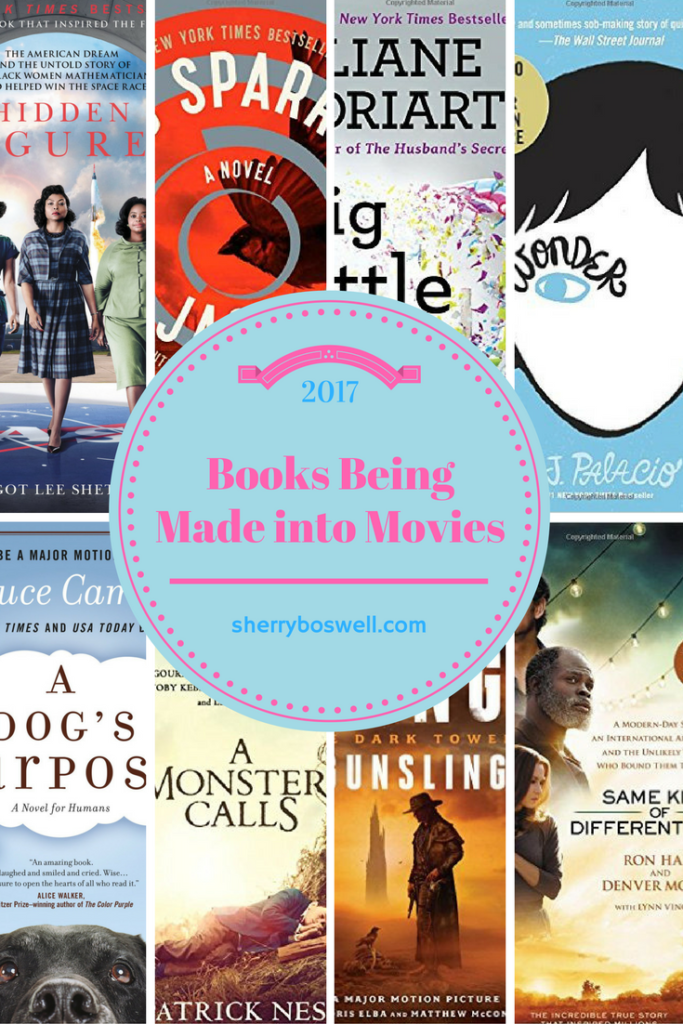 books being made into movies in 2017