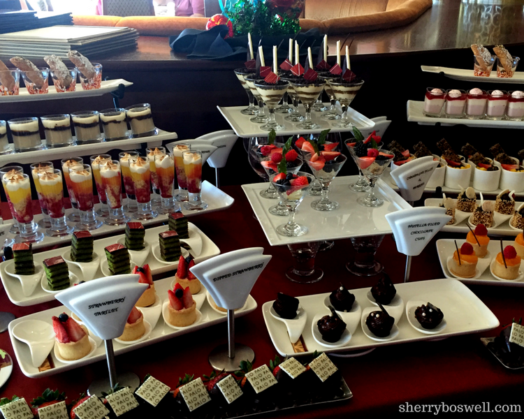 Disney Cruise Dining: Two Biggest Reasons to Try Palo | Palo brunch dessert table