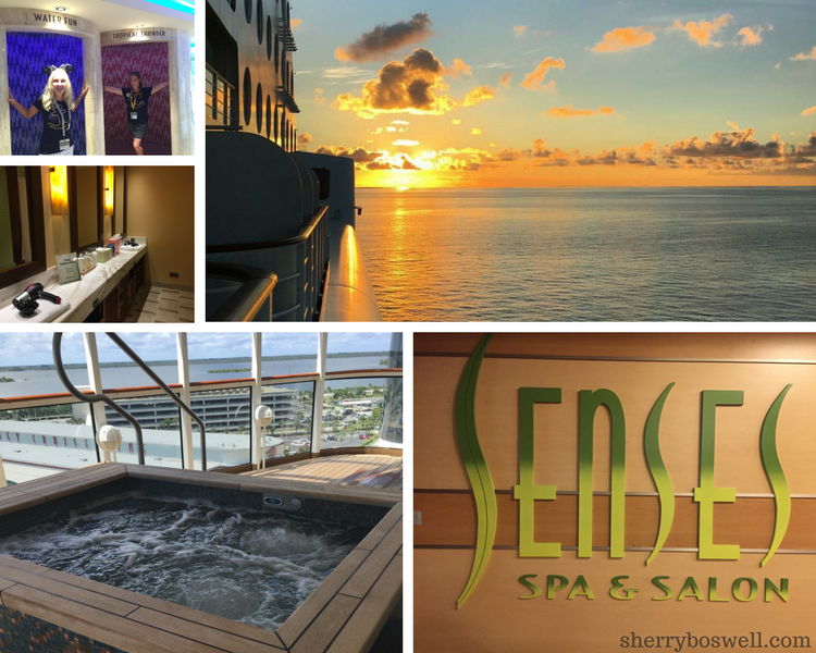 Disney Cruise Spa | The Rain Forest room is a must do on Disney Cruise Line