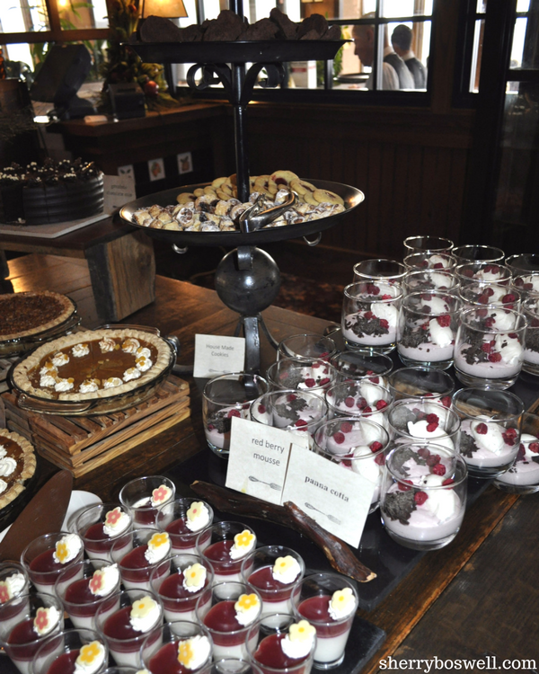 10 Things to Do in Asheville | Grove Park Inn Sunday brunch includes a fun dessert bar