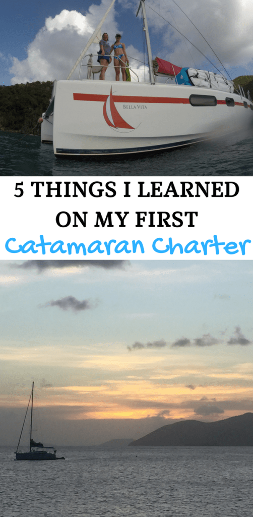 Caribbean sailing | A charter vacation in the Caribbean? Yeah mon! Book it ASAP because it's the best family vacation around. But before you go, check out our 5 things I learned on my first catamaran charter. From packing tips to what to do before you go, these tips will ensure you have smooth sailing. AD #iYachtClubPartner #Caribbean #sailing #charter #yacht #catamaran