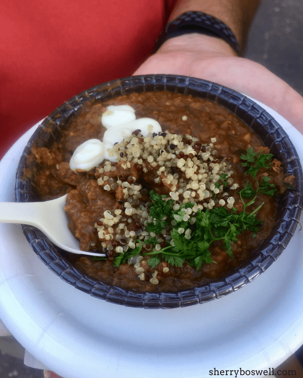 Choosing the Best Eats at Epcot International Food & Wine Festival is a labor of love. From India to Ireland with stops in Africa and Patagonia, we nosh on some of the 5 best dishes at this year's festival.