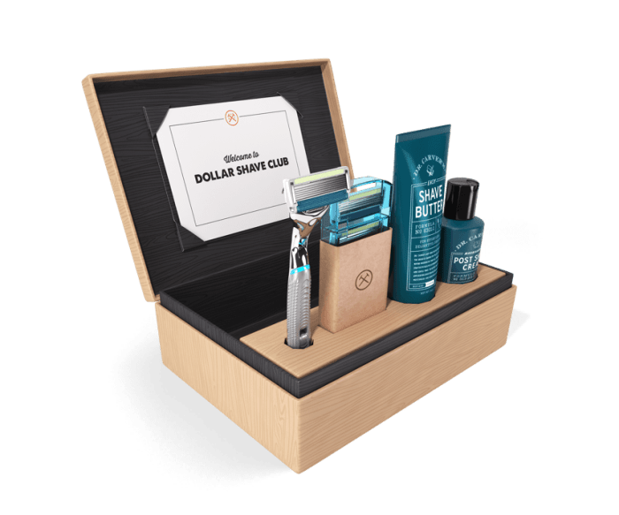 For men, one of the Best Subscription Boxes for the Holidays would be Dollar Shave Club.