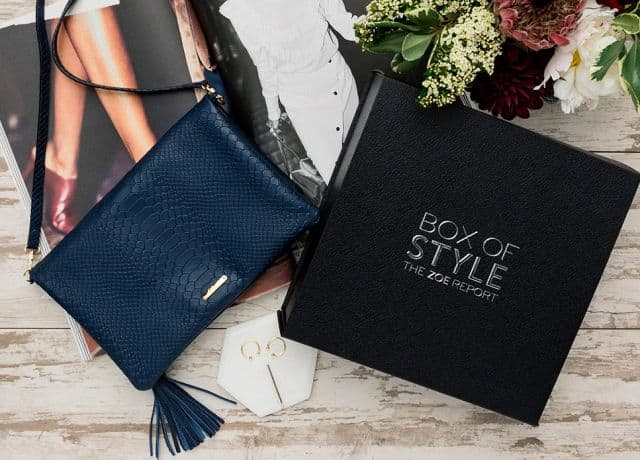 Best Subscription Boxes for the Holidays includes Rachel Zoe's Box of Style for those who love makeup, accessories and beauty products.