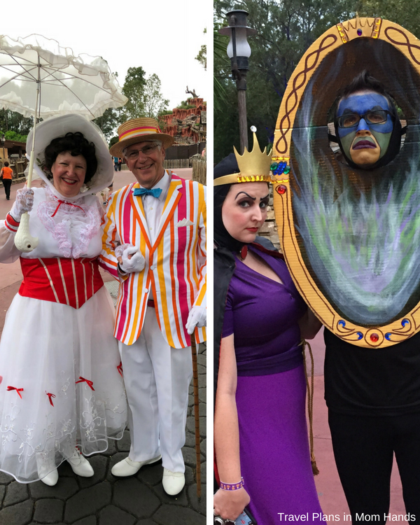 Creative costumes abound at Mickey's Not So Scary Halloween Party