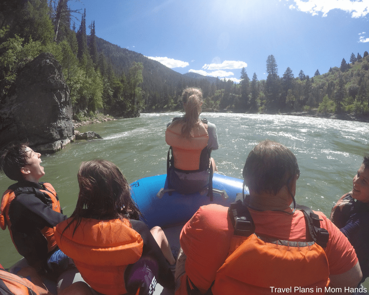 "one of the best things to do in Jackson Hole is whitewater rafting with Barker-Ewing: try ""riding the bull"""