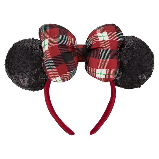 Show your Disney side with these holiday bling Minnie ears, the perfect gift for Disney lover for the holidays.
