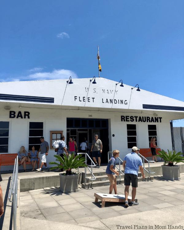 Add Fleet Landing to the list of best seafood restaurants in Charleston, SC.