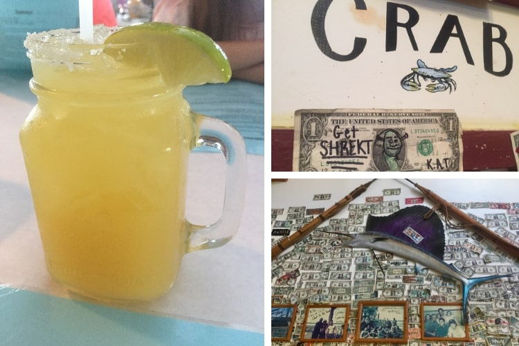 Johnson Creek Tavern is one of the casual dining options if spending 24 hours or more in blissful Beaufort SC.