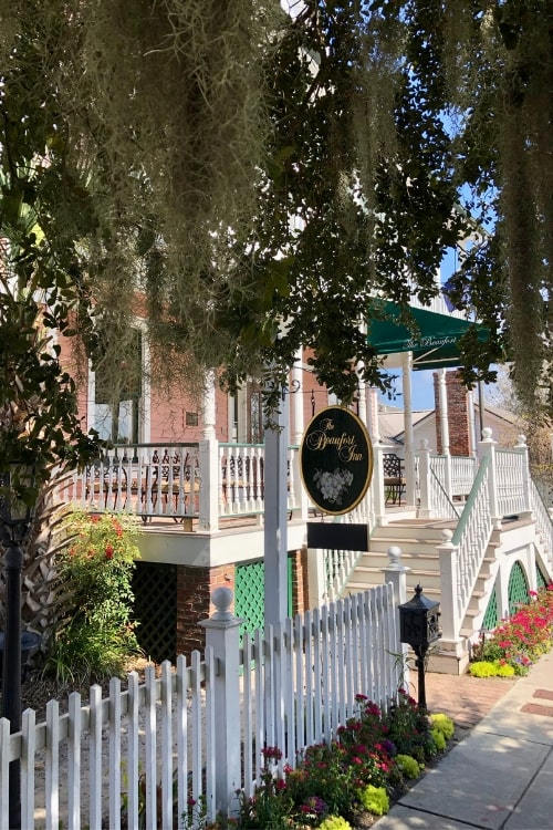 24 hours in blissful Beaufort, SC? Then spend it at the Beaufort Inn, a local B&B high on charm and prime location.