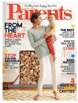 PARENTS MAGAZINE COVER IMAGE FEB 2015