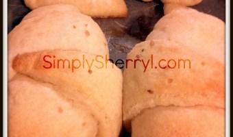 Buttered Garlic Croissants