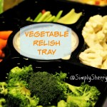 Vegetable Relish Tray