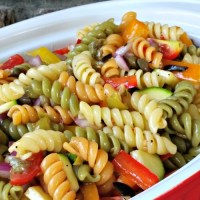 Rainbow Pasta Salad