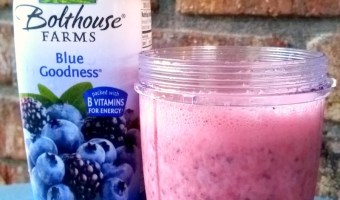 Black and Blueberry Smoothie Recipe