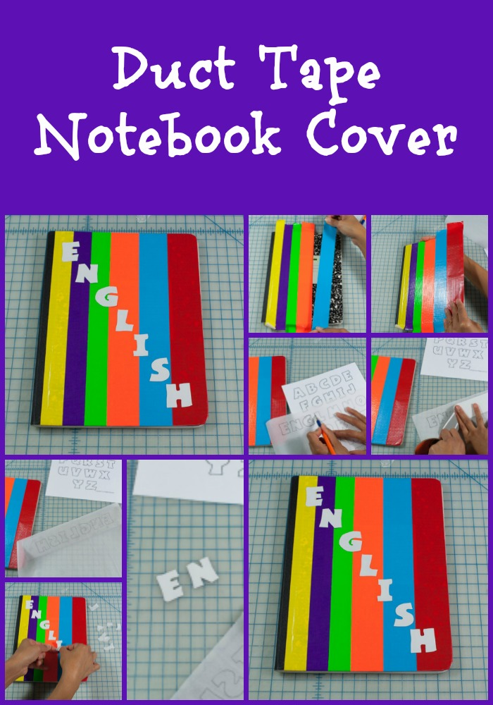 Duct Tape Notebook Cover  Simply Sherryl