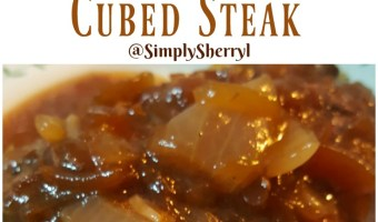 Pressure Cooker Mushroom and Onion Cubed Steak