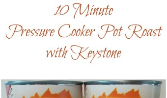 10 Minute Pressure Cooker Pot Roast