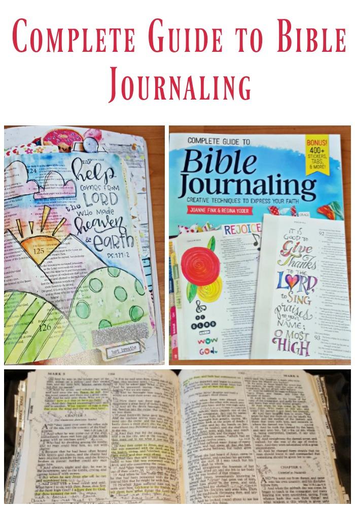 Bible Journaling Guide