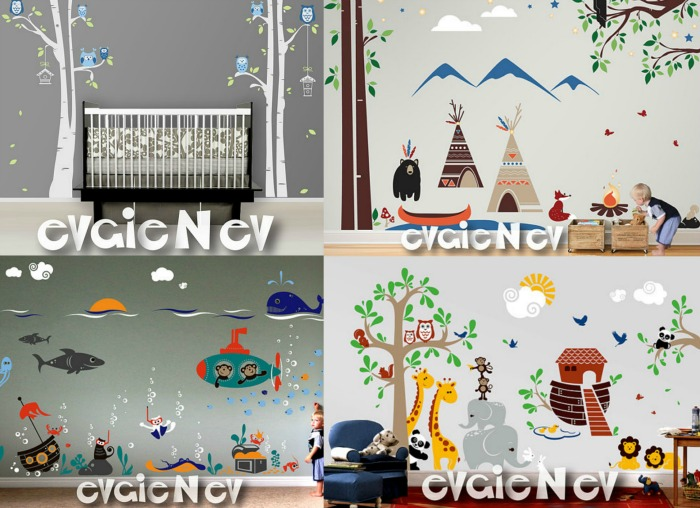 Evgie Wall Decal Nursery giveaway