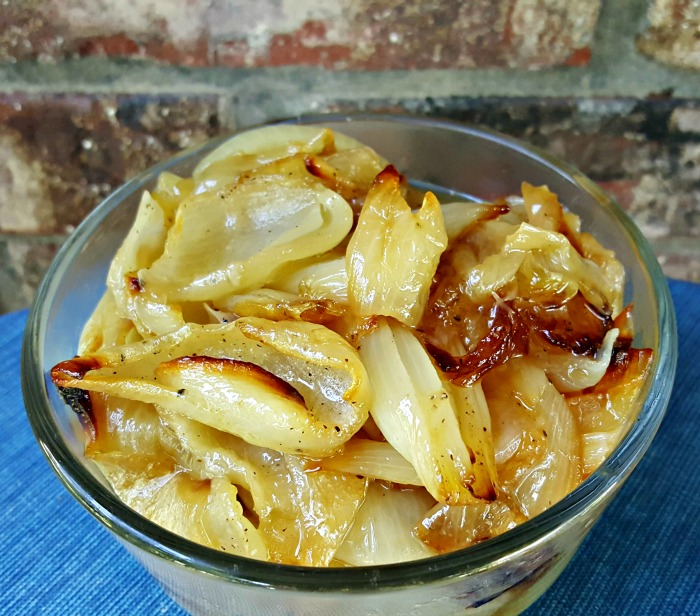 Roasted Yellow Onions