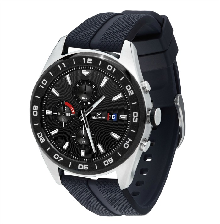 Make Every Minute Count with the LG Watch W7