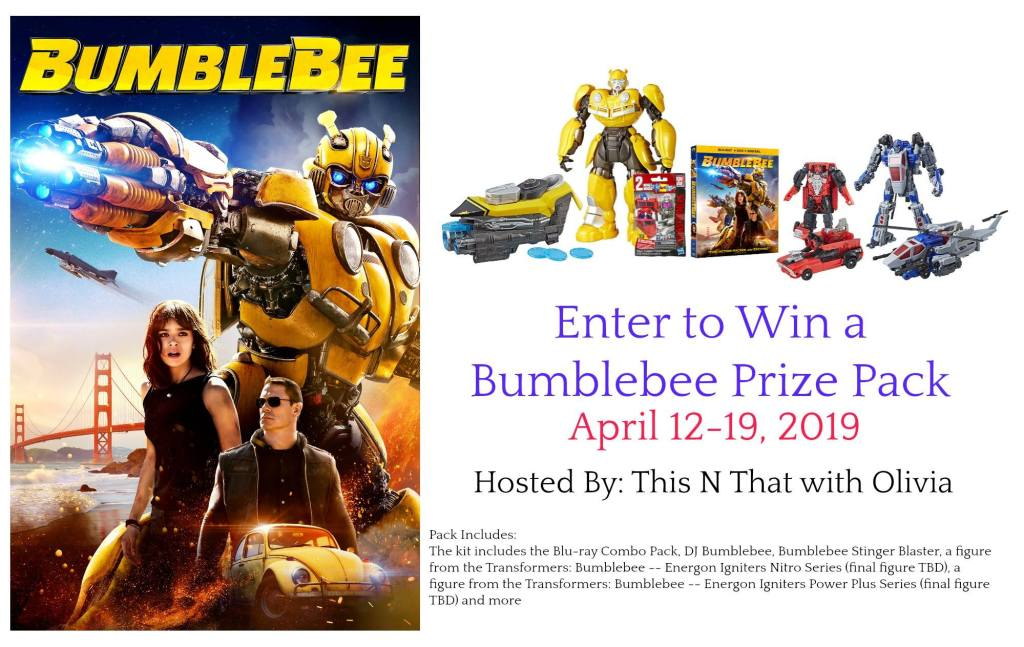 Win Your Copy of Bumblebee Movie
