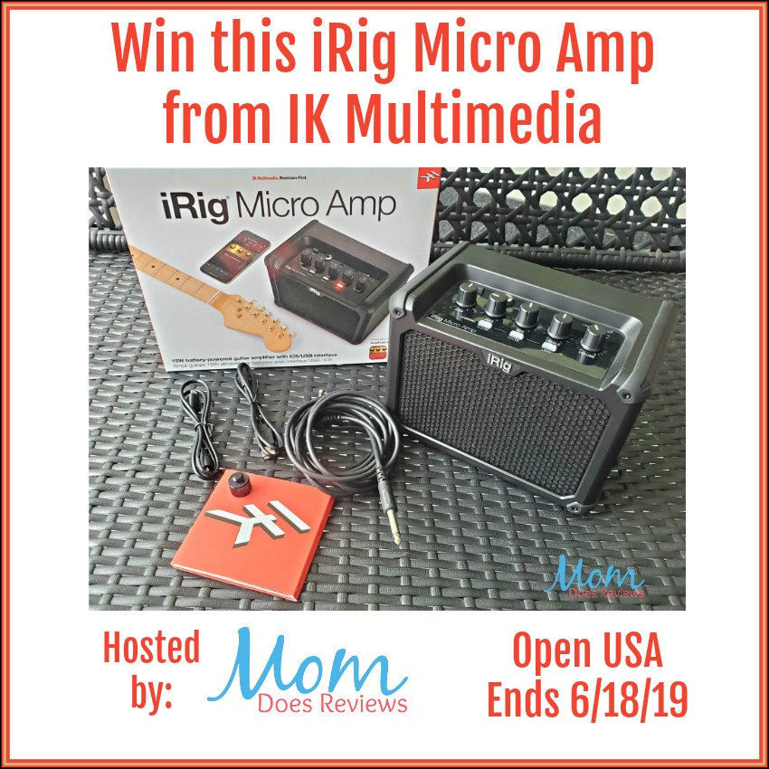Win this iRig Micro Amp, Open USA, Ends 6/18