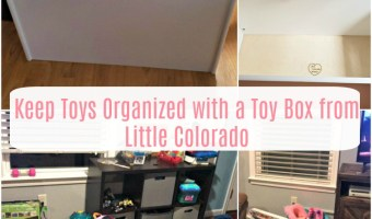Keep Toys Organized with a Toy Box from Little Colorado